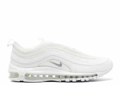 Nike Air Max 97 OG QS Silver WHITE Originali BIANCHE nuove SNEAKERS SHOES