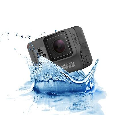 NEW GoPro Hero 5 Black 4K 12MP Action Camera Kit Waterproof Touch Display GPS