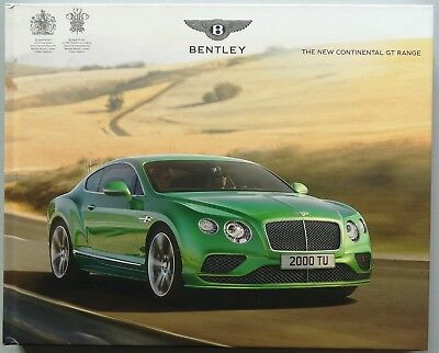 V06368 Bentley Continental Gt Coupe& Cabriolet - V8 W12 Speed - 2015