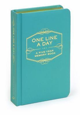 One Line a Day: A Five-Year Memory Book Chronicle Books Staff