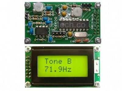 25 Tone CTCSS Decode / Display Kit - with tone valid outputs