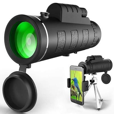 Ectreme Monocular Telescope, 40x60 High Powered Monocular with Smartphone Adapte
