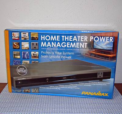 New Panamax Mr4000 8-Outlet Home Theater Power Management - Black