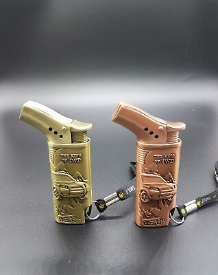 Windproof Jet Flame Gas Refillable Cigar Cigarette Lighter New Stylish Gift Item
