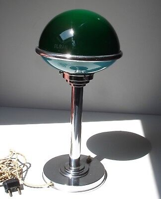 ✅ Ancienne Lampe Jlrin ART DECO Bauhaus ILRIN Modernist Table Lamp 1920 1930's ✅