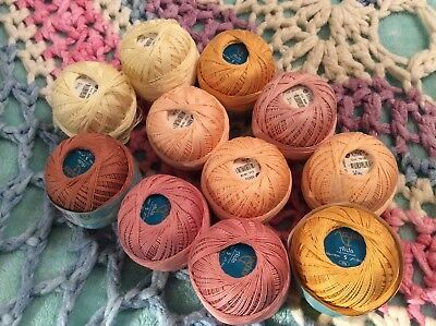 Anchor Aida cotton 11 x 50g balls crochet cotton yarn knitting needle craft art