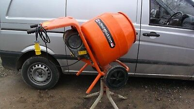 Belle 150 Minimix Concrete Cement Mixer with Stand 110v 2013 No VAT Very Nice...