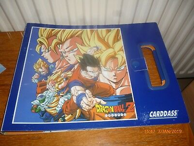 Classeur album carte Dragon ball z carddass bandai power level officiel vintage