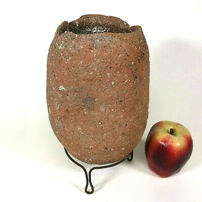 Ancient Pre-history Egypt Roman Old Jar Museum Quality Artifact History Antique