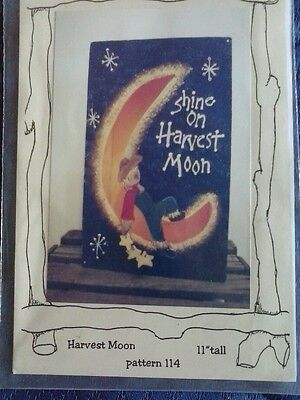 """Harvest Moon 11""""  Scarecrow Moon Project Pattern Instructions"""