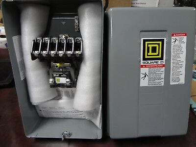 Square D 8903Lg60V02 6 Pole Lighting Contactor 120V Coil New Free Shipping