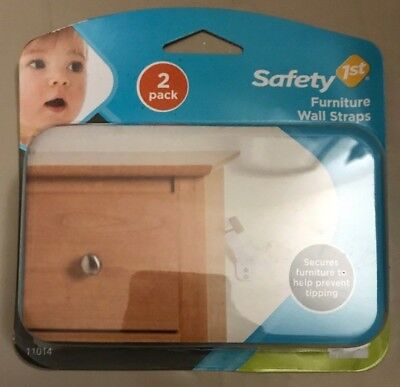 Safety First Furniture Wall Straps Secure Child