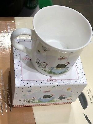 Twigseeds Collection Chelsea Mug in coordinated box Chicken Road