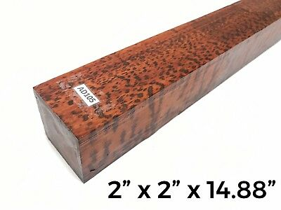 Snakewood Call Pool Cue Knife Blank Turning Exotic Lumber Wood drechselholz A105