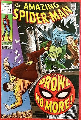Spider-Man 79 Marvel Silver Age 1969 2nd app of the Prowler
