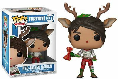 Funko Pop! Games Fortnite #437 Red-Nosed Raider EB Games Exclusive