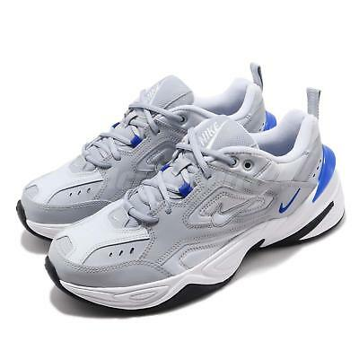 78fce92e459 Nike M2K Tekno Grey Blue White Black Men Chunky Daddy Shoes Sneakers AV4789 -005
