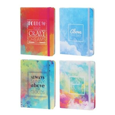 Portable Notepad Memo Diary Notebook Exercise Book Oil Painting Cover Stationery