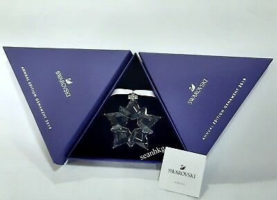 Swarovski Christmas Star Ornament 2019, Snowflake Crystal Authentic 5427990