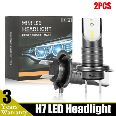 H7 110W 30000Lm LED Car Headlight Conversion Globes Canbus Bulbs Beam 6000K Kit