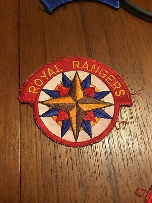 VTG Royal Ranger Patch Original Design
