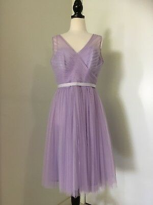Kelsey Rose lavender bridesmaid dress purple ONLY TRIED AU 12