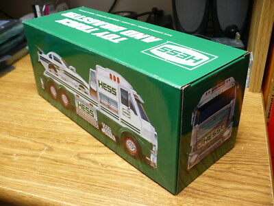 2016 Hess Toy Truck and Dragster-New-Lights work-Mint Truck and Near Mint Box