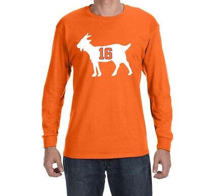 Clemson Tigers Trevor Lawrence Goat Long sleeve shirt