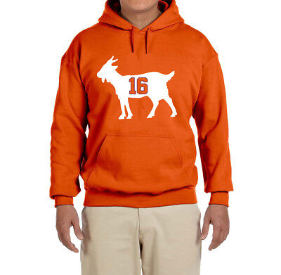 Clemson Tigers Trevor Lawrence Goat Hooded Sweatshirt