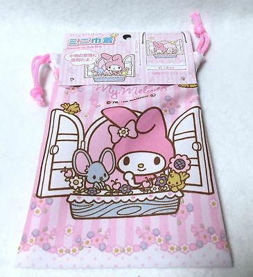 SANRIO My Melody  Japanese style Drawstring Bag Pouch Accessory Case