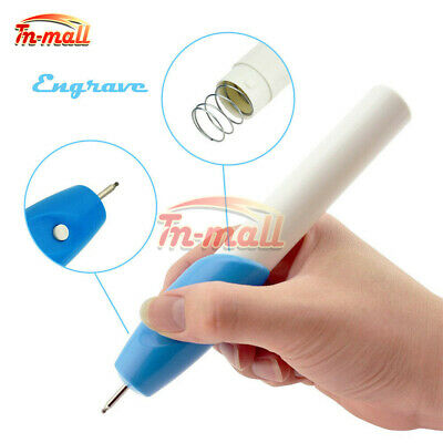 Electric Engraving Pen Mini Engraver Graver Kit DIY for Machine Jewelry Steel