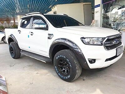 Gray Wildtrak Fender Flares Wheel Arch Ford Ranger PX2 PX3 MK2 MY 2015-2019 2018