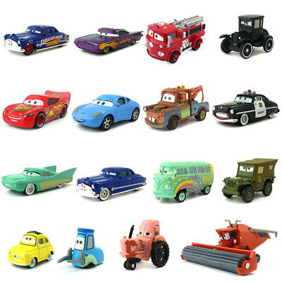 Disney Pixar Cars Friends of Radiator Springs Metal 1:55 Diecast Toy Car Model