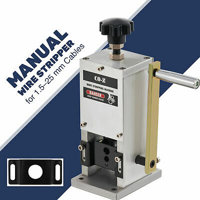 Manual Wire Stripping Machine Portable Scrap Cable Stripper for Recycling