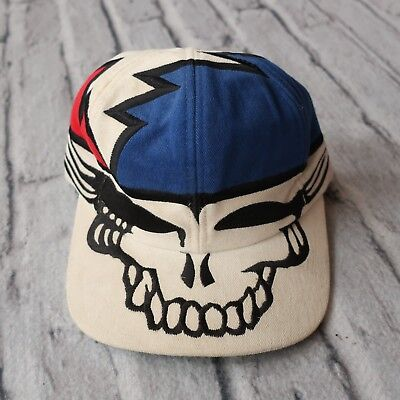 Vintage 1996 Grateful Dead Steal Your Face Hat by Liquid Blue