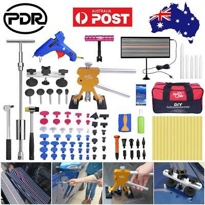 95× AU PDR Tools Paintless Dent Hail Repair Dent Lifter Slide Hammer Removal Set