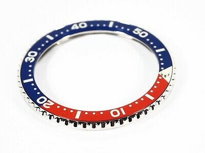 New Bezel With Red Blue Seiko Insert for Vostok Amphibian and Komandirskie