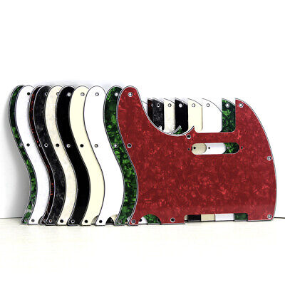 Left Handed Tele Guitar Pickguard Scratch Plate for Standard USA/Mexico Tele