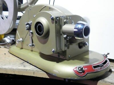 9.5 Mm Pathescope Gem Film Projector, 2 Spare Lamps, Ideal Film Transfer Machine