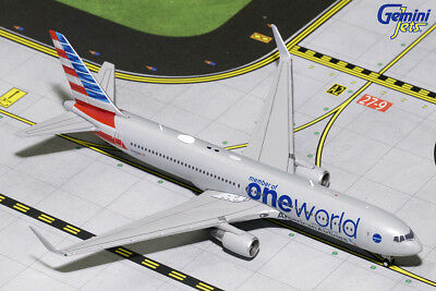 Gemini Jets 1:400 American Airlines Boeing B767-300(ER) 'OneWorld' N343AN