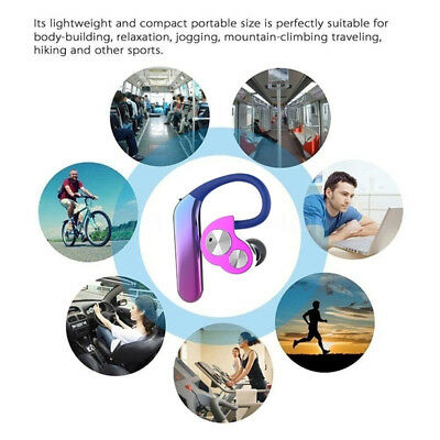 Waterproof Wireless Bluetooth 5.0 Headset Headphones For Samsung iPhone Android
