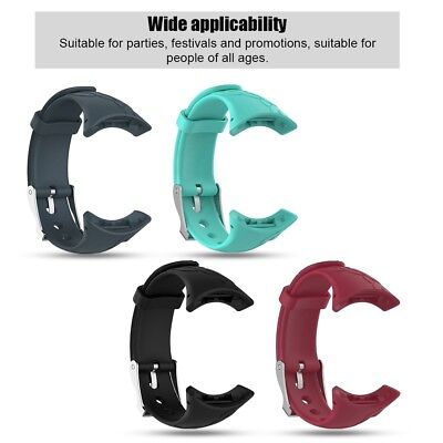 For Suunto M1 M2 M4 M5 Lady Silicone Watch Wrist Band Replacement Bracelet Strap