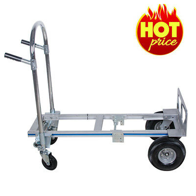 FOLDABLE PLATFORM HAND SACK TROLLEY TRUCK CART BARROW CARRIAGE 770LBS 51Inch