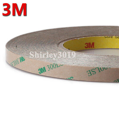 3M 300LSE 9495LE Double Sided Clear Adhesive 55M Tape Cell Phone LCD Repair