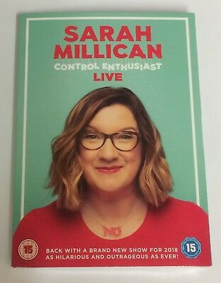 Unopened Dvd.sarah Millican-Control Enthusiast-Live.still Sealed.