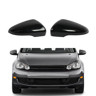 Black Left Right Side Wing Mirror Cover Fit For Vw Touran Golf Gti Mk6 23 99 Picclick
