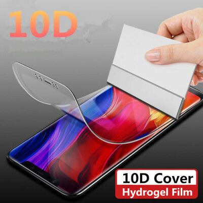 10D Soft Hydrogel Film Full Cover Screen Protector For Xiaomi Mi A2 8 Mix 2 2S 3
