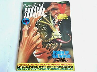 *** Your Sinclair Magazine March 1986 V ***