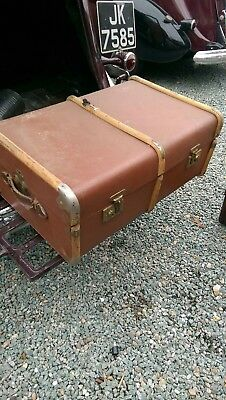 luggage trunk large  ideal wedding car / display  other uses