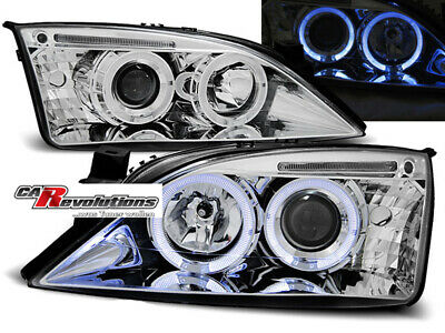 Ford Mondeo 09.00-05.07 - Angel Eyes Scheinwerfer in chrom